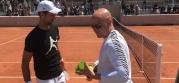 Đoković i Agasi trenirali zajedno u Parizu! (VIDEO)